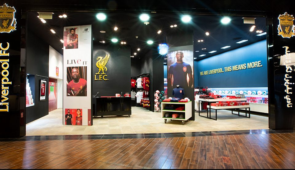 Liverpool Football Clube The Dubai Mall